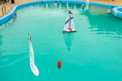 Регата на радиоуправляемых яхтах в яхт-клубе Адмирал