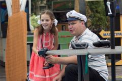 Гонки на радиоуправляемых яхтах и скоростных катерах / Довиль