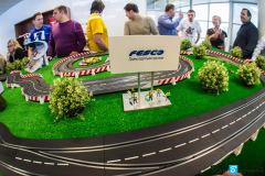 Кольцевые гонки в офисе Транспортная группы FESCO на 23 февраля