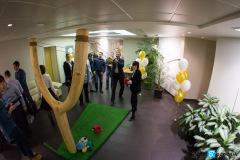 """Angry Birds в офисе компании """"Полюс Золото"""" на 23 февраля"""