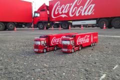 на Чемпионате водительского мастерства Coca-Cola