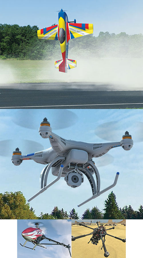 Симулятор радиоуправляемых авиамоделей в аренду-001