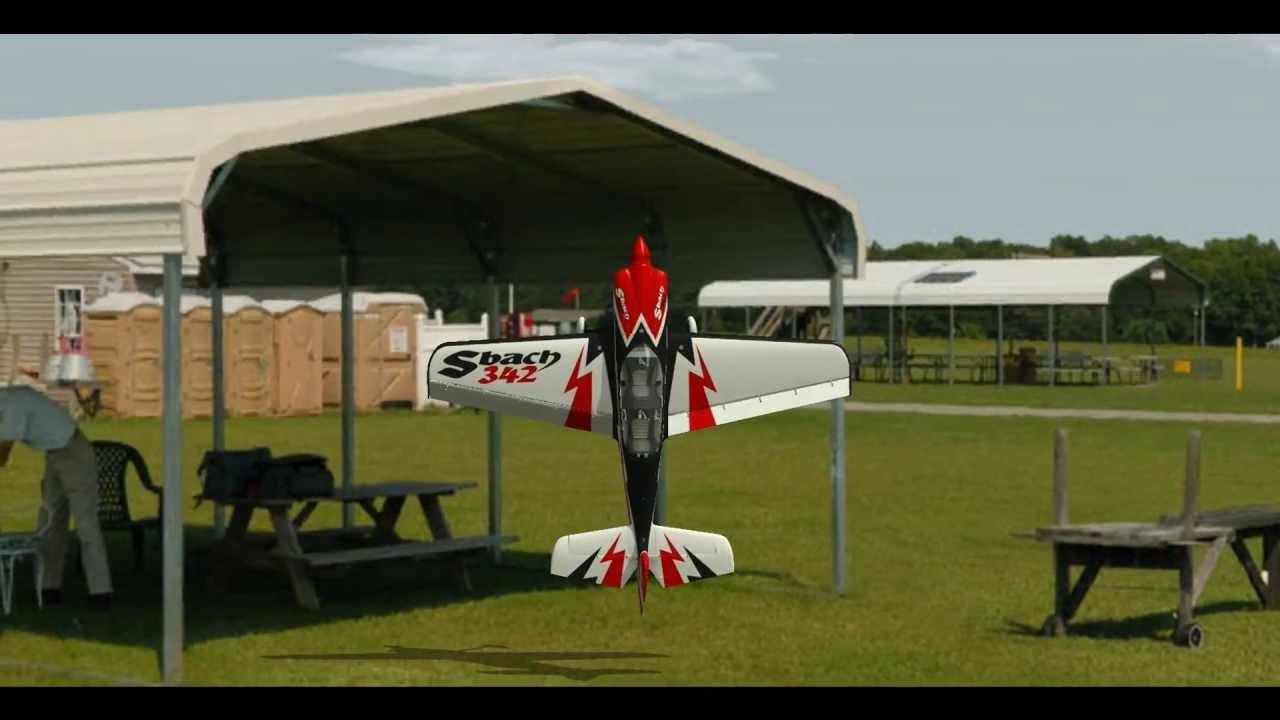 Симулятор радиоуправляемых авиамоделей в аренду-004