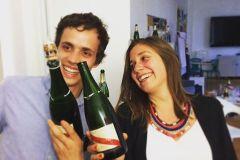 Мастер класс по открыванию шампанского саблей-008
