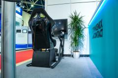 Гоночный автомобильный симулятор в аренду на мероприятие, выставку, корпоратив