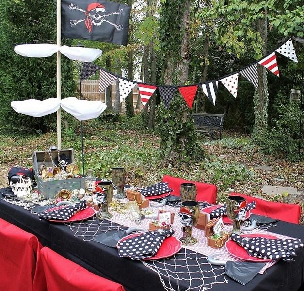 Как оформить пиратскую вечеринку