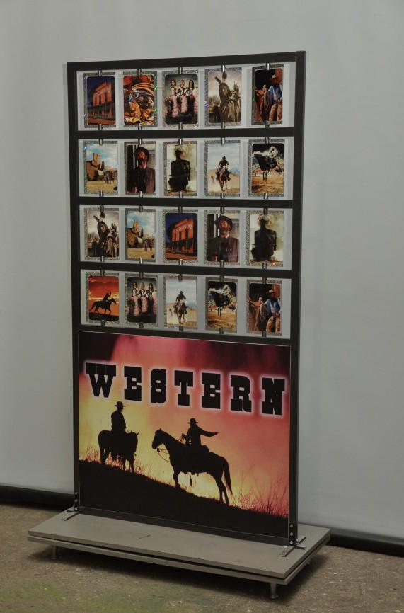 Карточный стенд ковбойский 1