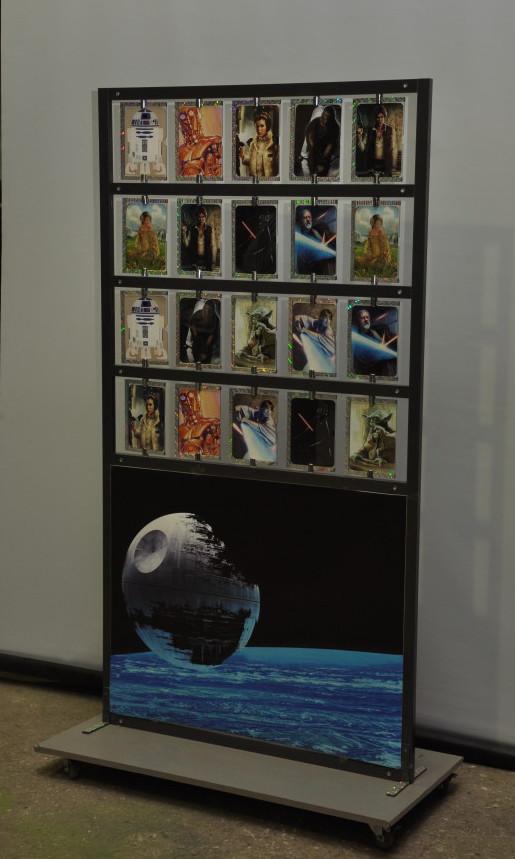 Карточный стенд Star Wars 1