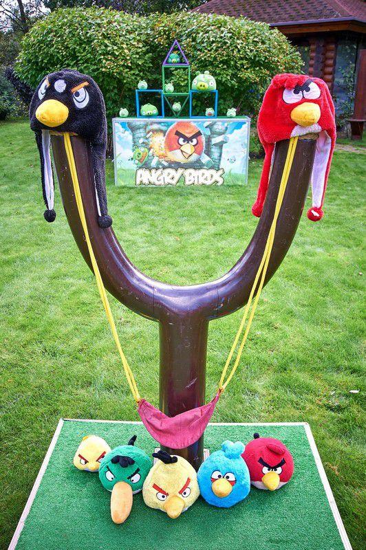 Angry Birds в аренду
