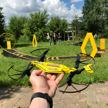 Гонки радиоуправляемых дронов в аренду на мероприятие