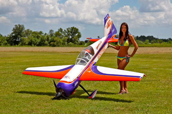 Симулятор полёта на радиоуправляемом самолёте в аренду