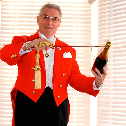 Мастер-класс по открыванию шампанского на мероприятие