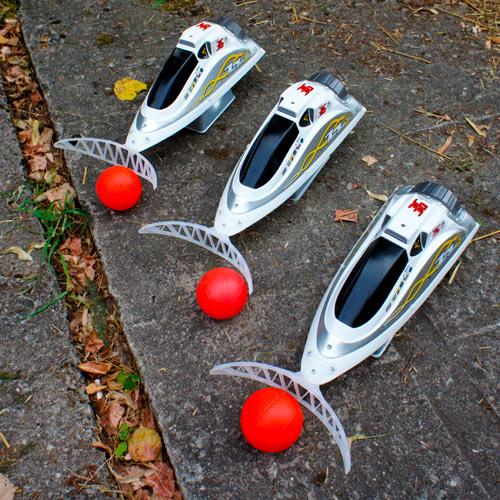 Радиоуправляемые катера в аренду. Водный футбол