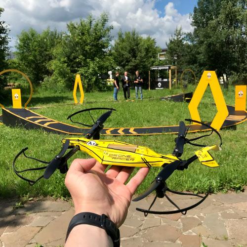 Гонки на дронах в аренду